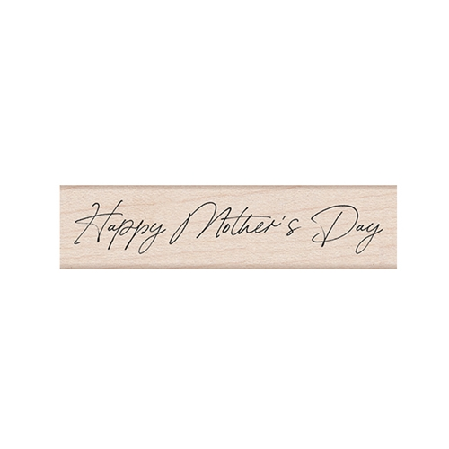 Hero Arts Rubber Stamp HANDWRITTEN MOTHER'S DAY C6463 Preview Image
