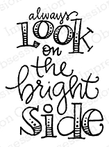 Impression Obsession Cling Stamp BRIGHT SIDE C12363