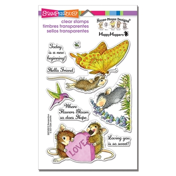 Stampendous Clear Stamps A NEW BEGINNING sscm5010 House Mouse*