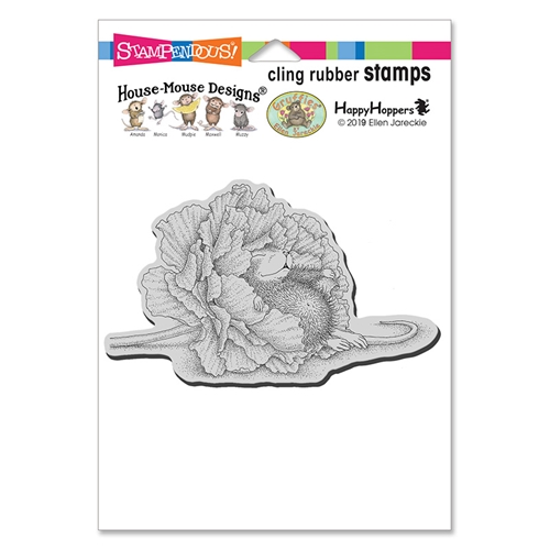 Stampendous, House Mouse Dream Flower Cling Stamp