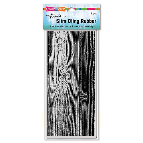Stampendous Cling Stamp SLIM WOODGRAIN csl11 Preview Image