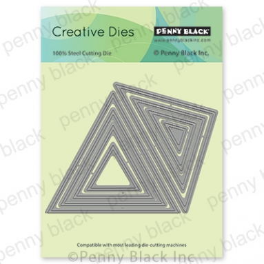 Penny Black TRIANGLES Thin Metal Creative Dies 51 647 Preview Image