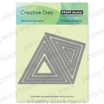 Penny Black TRIANGLES Thin Metal Creative Dies 51 647