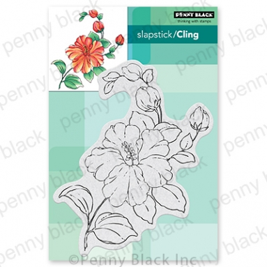 Penny Black Cling Stamps FLORESCENCE 40 779 Preview Image