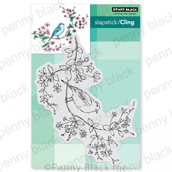 Penny Black Cling Stamps BIRDS EYE VIEW 40 777