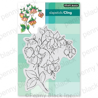 Penny Black Cling Stamps CAPTIVATING 40 774 Preview Image