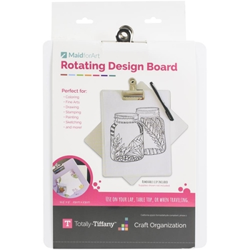 Totally Tiffany CLIP AND CREATE ROTATING Design Board rccld