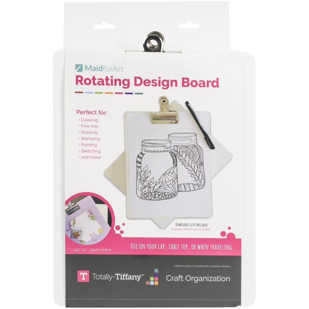 Totally Tiffany CLIP AND CREATE ROTATING Design Board rccld zoom image