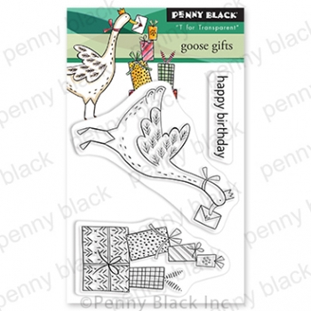 Penny Black Clear Stamps GOOSE GIFTS 30 815