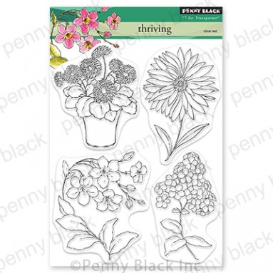 Penny Black Clear Stamps THRIVING 30 811 Preview Image