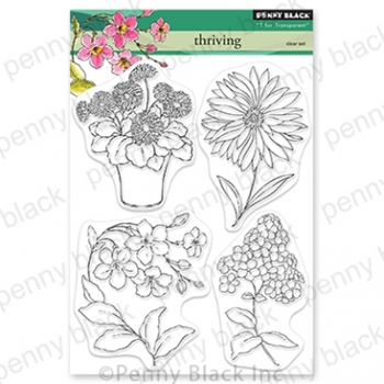 Penny Black Clear Stamps THRIVING 30 811