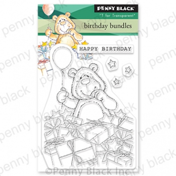 Penny Black Clear Stamps BIRTHDAY BUNDLES 30 808