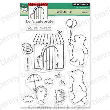 Penny Black Clear Stamps WELCOME 30 818 Preview Image