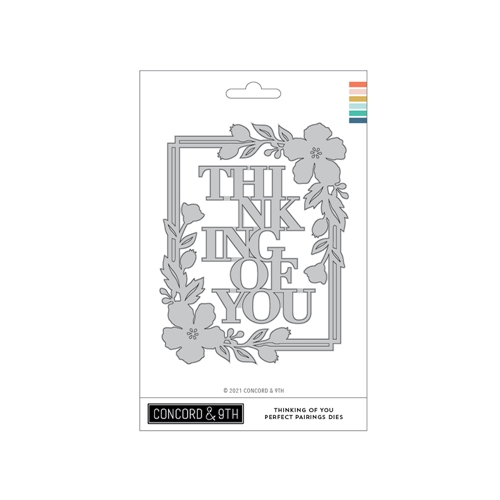 Concord & 9th THINKING OF YOU PERFECT PAIRINGS Dies 11094 Preview Image