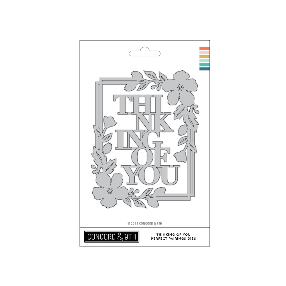 Concord & 9th THINKING OF YOU PERFECT PAIRINGS Dies 11094 zoom image
