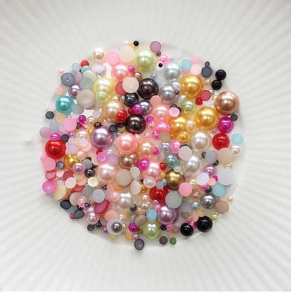 Little Things From Lucy's Cards Pearls CHUNKY SOFT JELLYBEAN LBP28 zoom image