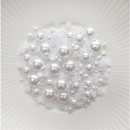 Little Things From Lucy's Cards Pearls CHUNKY SOFT SNOWBALL lbp29 Preview Image