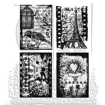 Tim Holtz Cling Rubber Stamps RANDOM GATHERINGS CMS076