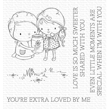 My Favorite Things FIREFLY FRIENDS Clear Stamps ram-013