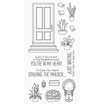 My Favorite Things SITTIN' PRETTY Clear Stamps bb122
