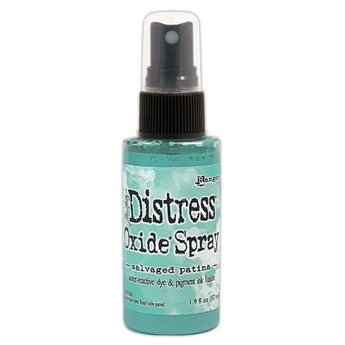Tim Holtz Distress Oxide Spray 2021 New April SALVAGED PATINA Ranger tso72799 Preview Image