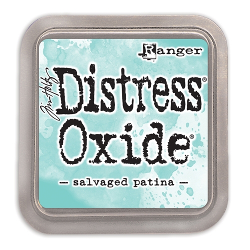 Tim Holtz Distress Oxide Ink Pad 2021 New April SALVAGED PATINA Ranger tdo72751 Preview Image