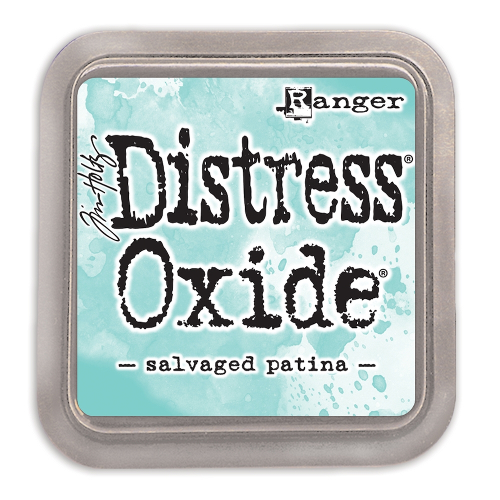 Tim Holtz Distress Oxide Ink Pad 2021 New April SALVAGED PATINA Ranger tdo72751 zoom image