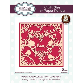 Creative Expressions LOVE NEST Dies cedpp022