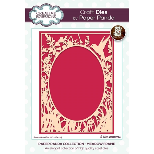 Creative Expressions MEADOW FRAME Dies cedpp024 Preview Image