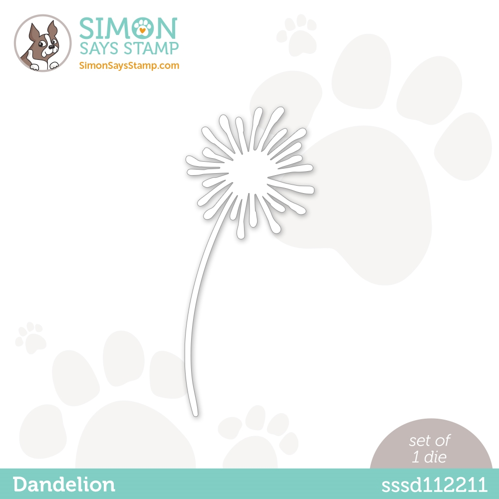 Simon Says Stamp DANDELION Wafer Dies sssd112211 zoom image