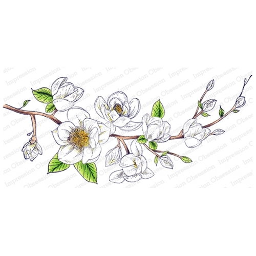 Impression Obsession Cling Stamp MAGNOLIA 3256 LG Preview Image
