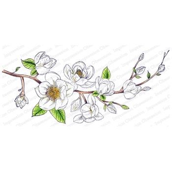 Impression Obsession Cling Stamp MAGNOLIA 3256 LG