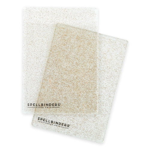 PL 117 Spellbinders GLITTER STANDARD CUTTING PLATES Preview Image