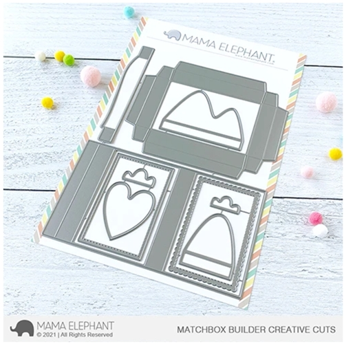Mama Elephant MATCHBOX BUILDER Creative Cuts Steel Dies Preview Image