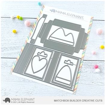 Mama Elephant MATCHBOX BUILDER Creative Cuts Steel Dies