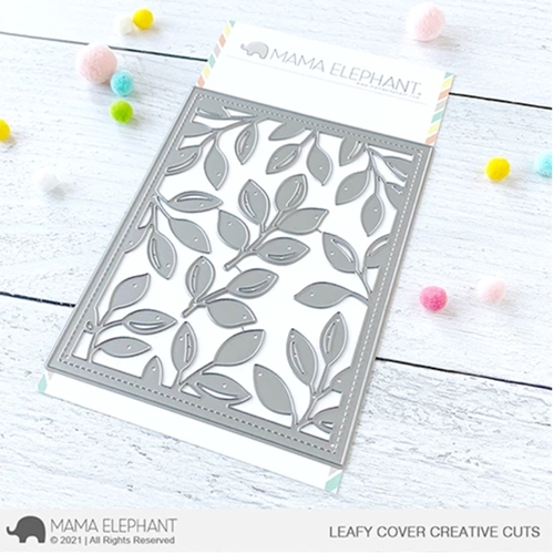 Mama Elephant LEAFY COVER Creative Cuts Steel Dies Preview Image