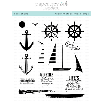 Ink to Paper SEAS OF LIFE Clear Stamps 1279