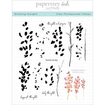Ink to Paper BLOOMING THOUGHTS Clear Stamps 1278