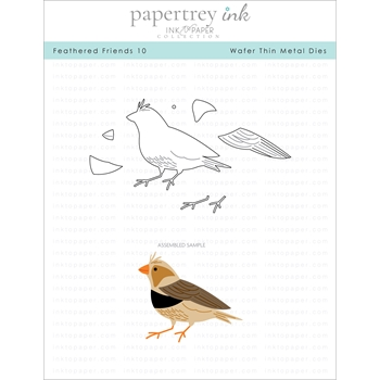 Ink to Paper FEATHERED FRIENDS 10 Dies ITP275