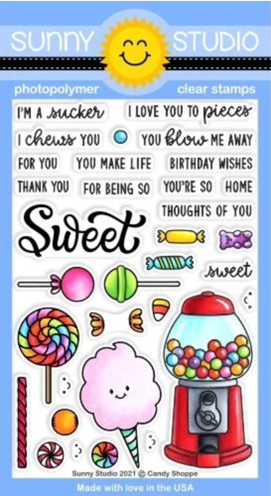 Sunny Studio CANDY SHOPPE Clear Stamps SSCL 297 zoom image