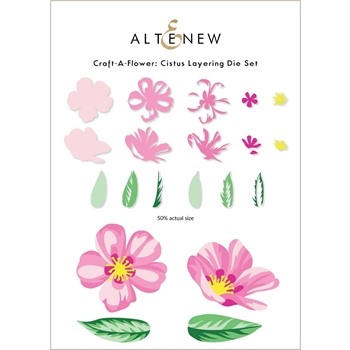 Altenew Craft A Flower CISTUS Dies ALT6013