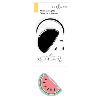 Altenew MINI DELIGHT ONE IN A MELON Clear Stamp and Die Bundle ALT6017