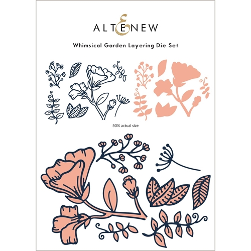 Altenew WHIMSICAL GARDEN Layering Dies ALT6067 Preview Image