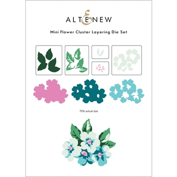 Altenew MINI FLOWER CLUSTER Layering Dies ALT6064