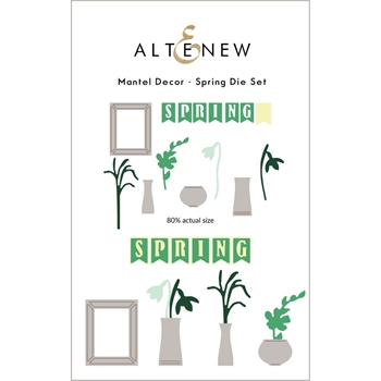 Altenew MANTEL DECOR SPRING Dies ALT6063