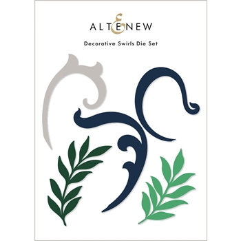 Altenew DECORATIVE SWIRLS Dies ALT6061