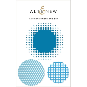 Altenew CIRCULAR ELEMENTS Dies ALT6060