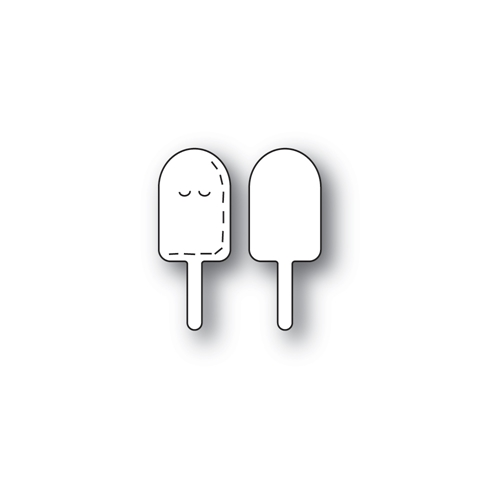Poppy Stamps WHITTLE POPSICLE Craft Dies 2421 Preview Image