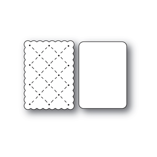 Poppy Stamps WHITTLE ICE CREAM SANDWICH Craft Dies 2444 Preview Image