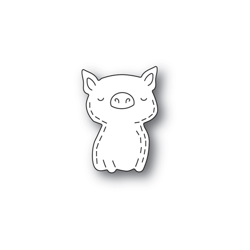 Poppy Stamps WHITTLE PIG Craft Dies 2434 Preview Image